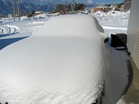 RX7 FD3S 雪だるま仕様