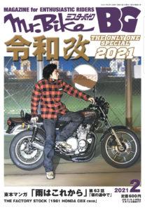 ミスターバイクBG、カーボン外装